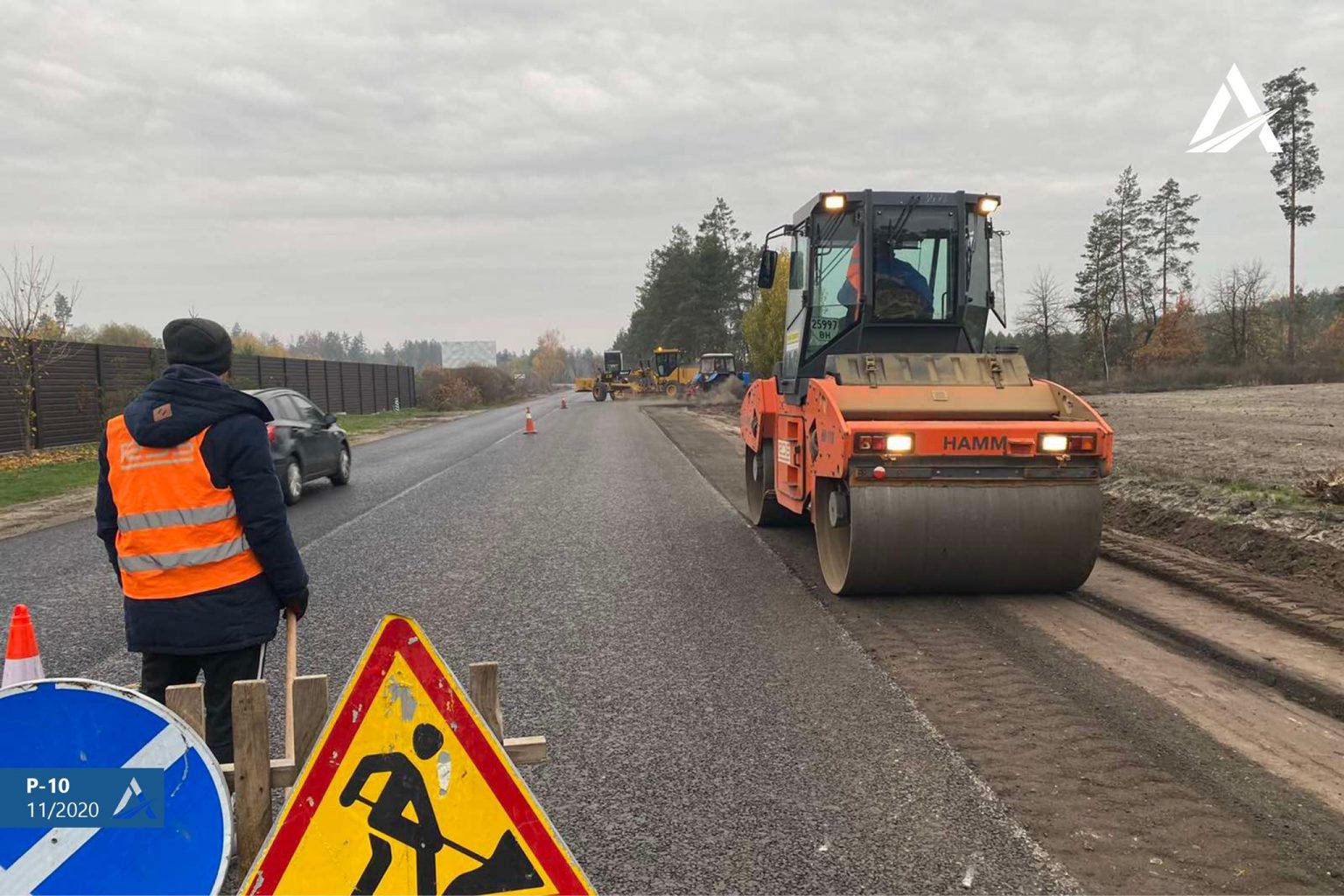 Ще 9 кілометрів дороги між Мошнами та Софіївкою Черкаського району відремонтували