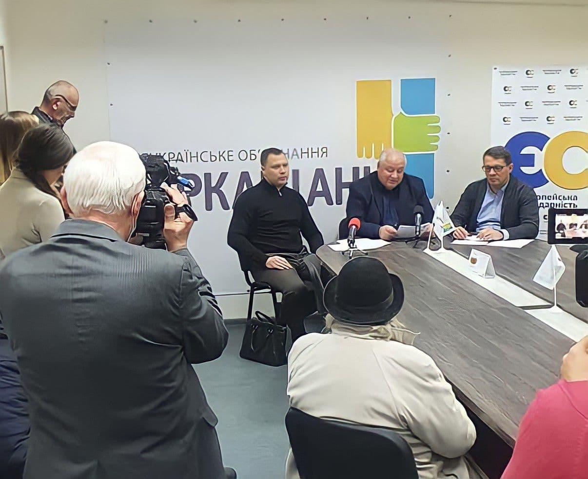 Три депутатські фракції створили коаліцію в Черкаській облраді