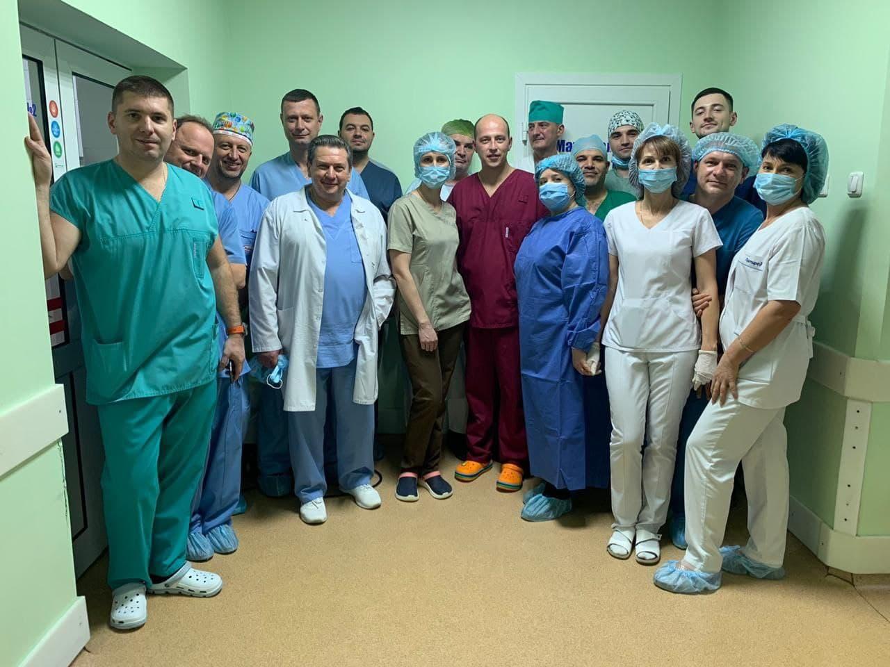У Черкасах уперше провели операцію з трансплантації нирок