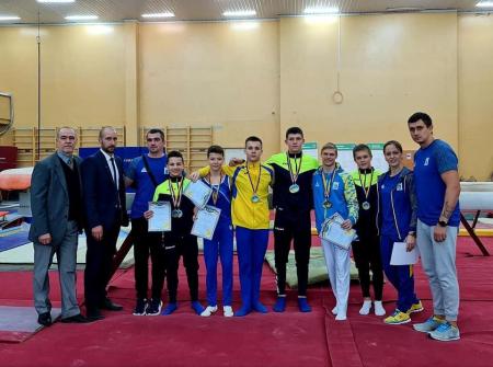 Черкаські гімнасти здобули нагороди чемпіонату України