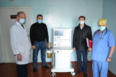У Лисянську районну лікарню придбали ШВЛ