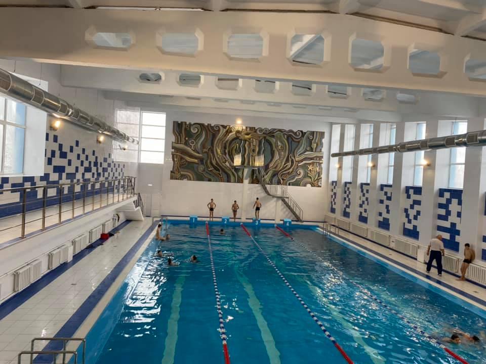 На Чорнобаївщині відремонтували басейн