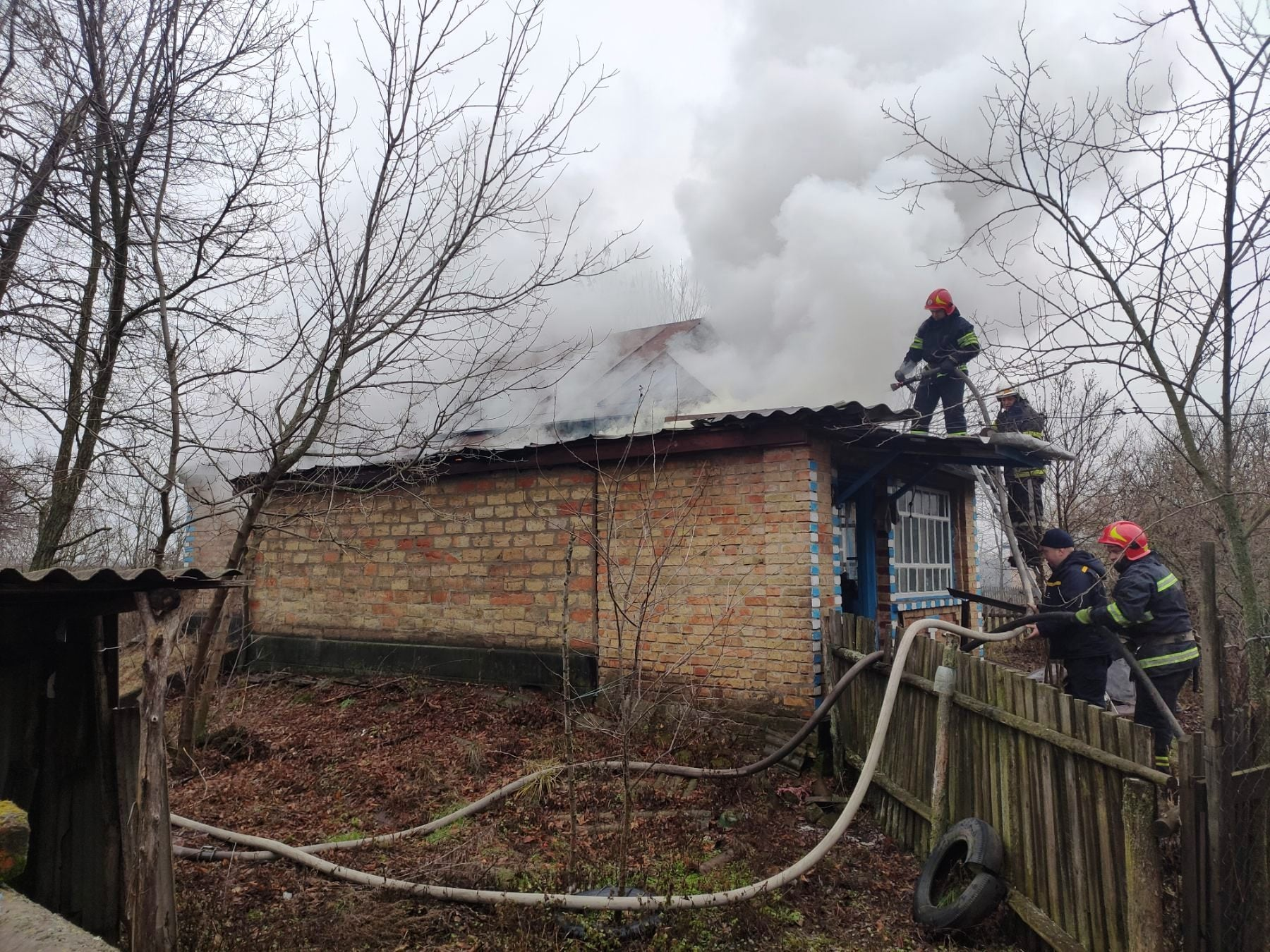 На Черкащині виникло дві пожежі у помешканнях