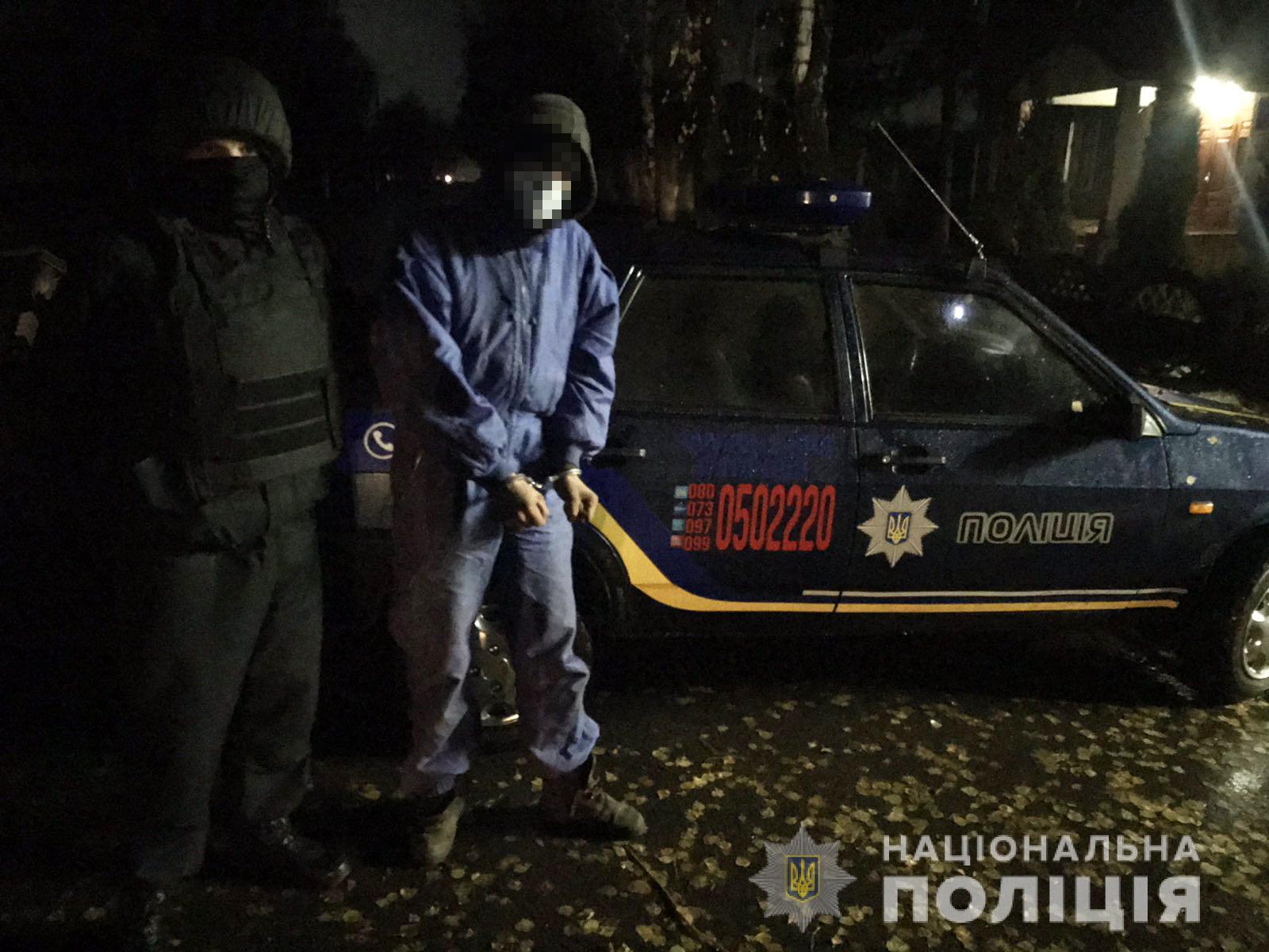 На Черкащині спіймали грабіжника у ресторані