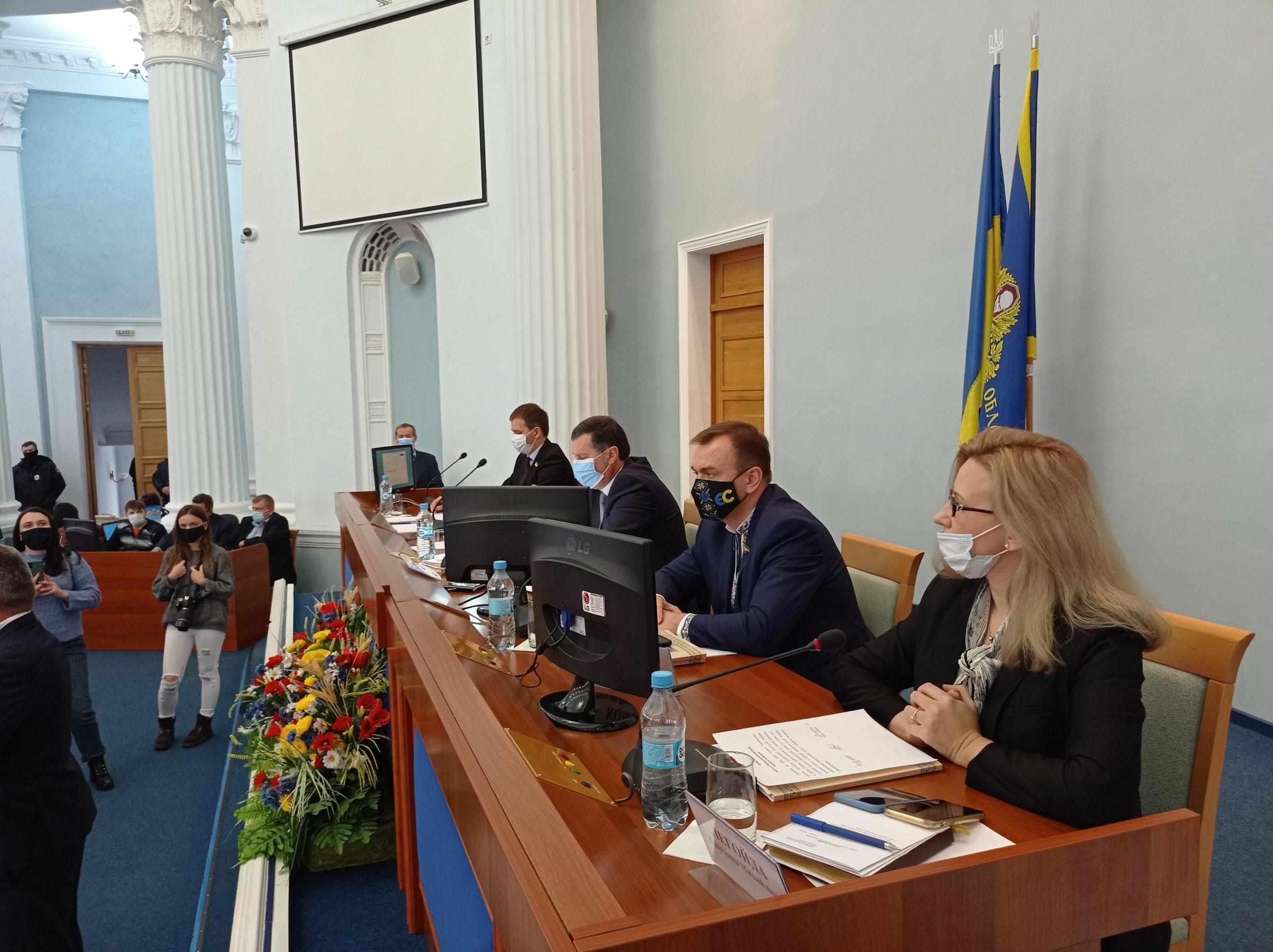 У Черкаській облраді відбулася перша сесія нового скликання (ФОТОРЕПОРТАЖ)