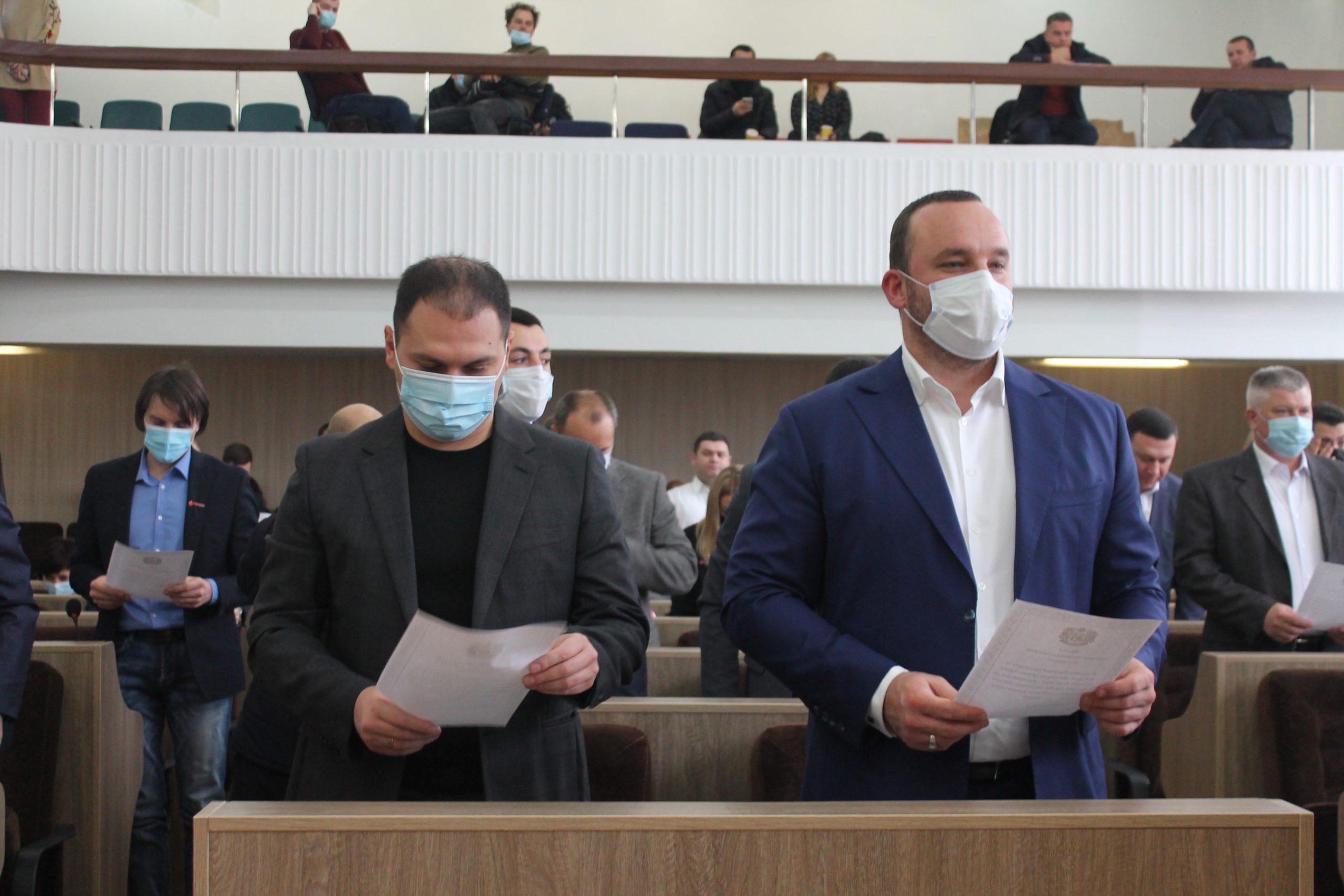 Депутати міської ради у четвер зберуться на сесію