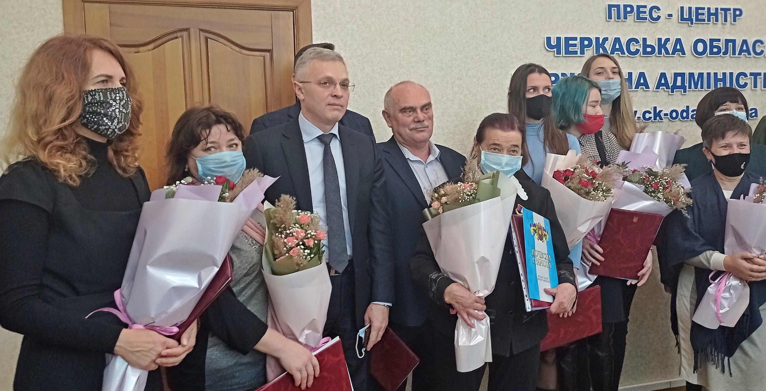 Благодійникам Черкащини вручили нагороди з нагоди Міжнародного дня волонтера