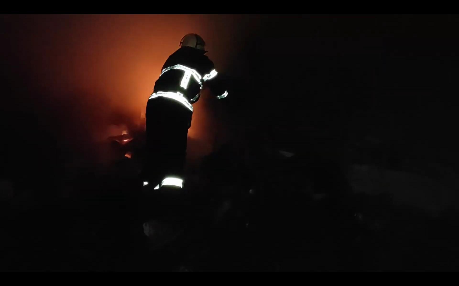 Пожежа на Черкащині: від печі спалахнула будівля