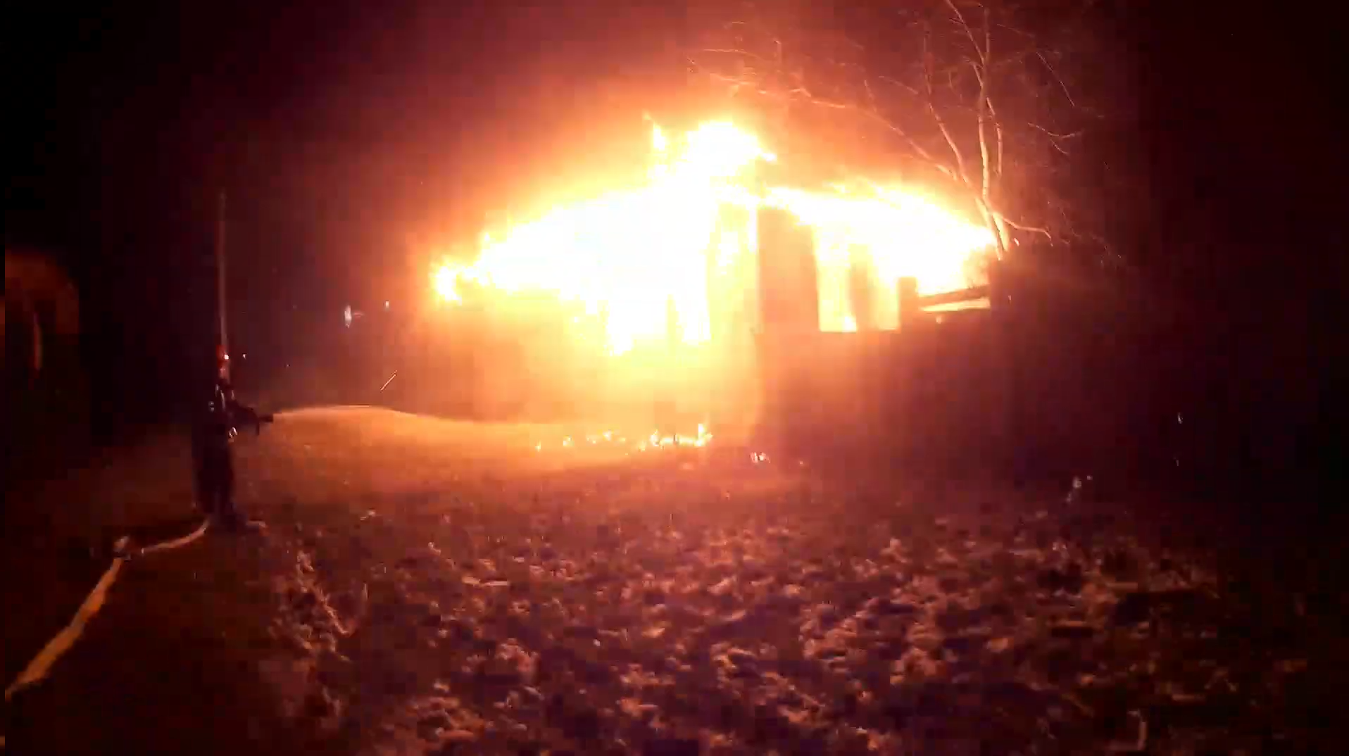 У Черкасах в закинутому будинку згоріла людина