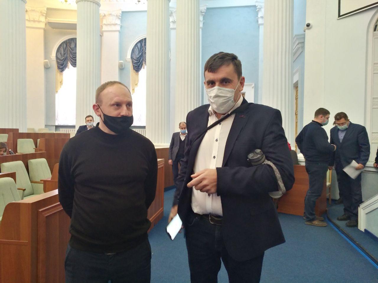 Голові обласної ради не обрали третього заступника