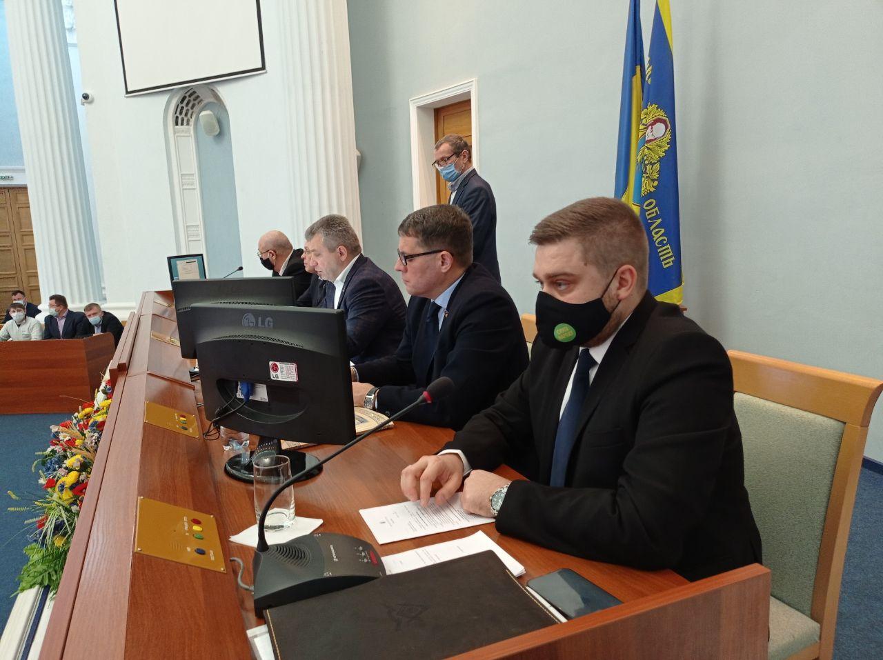 Голові Черкаської облради обрали двох заступників