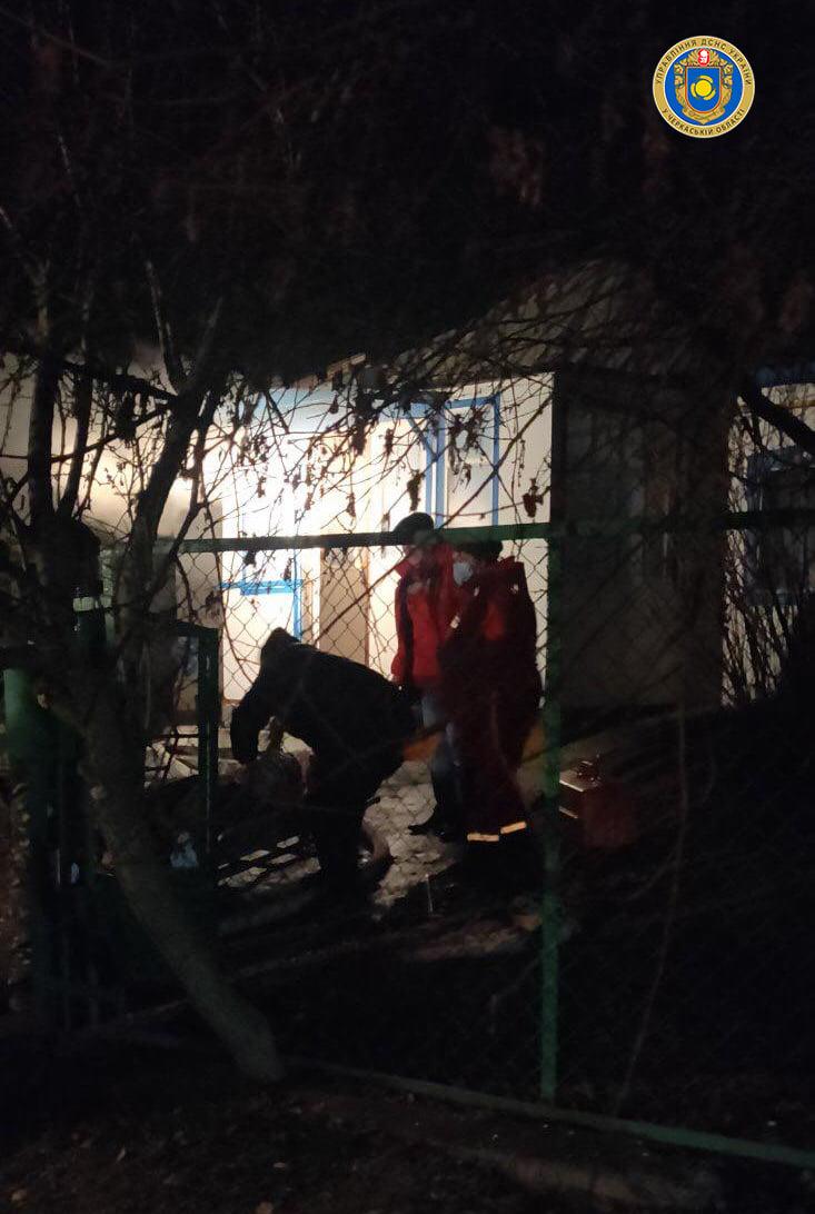 У пожежі на Канівщині загинув чоловік