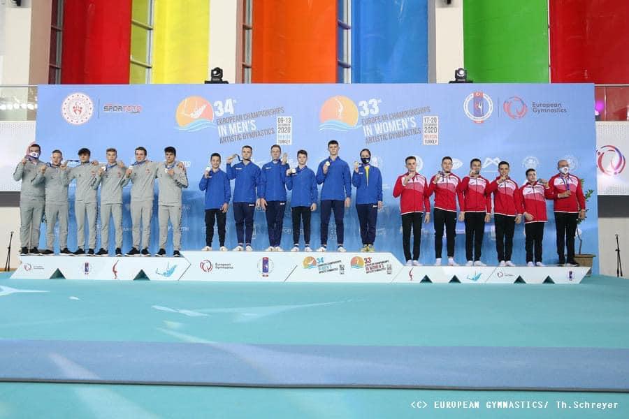 Гімнасти з Черкащани вибороли «золото» на чемпіонаті Європи