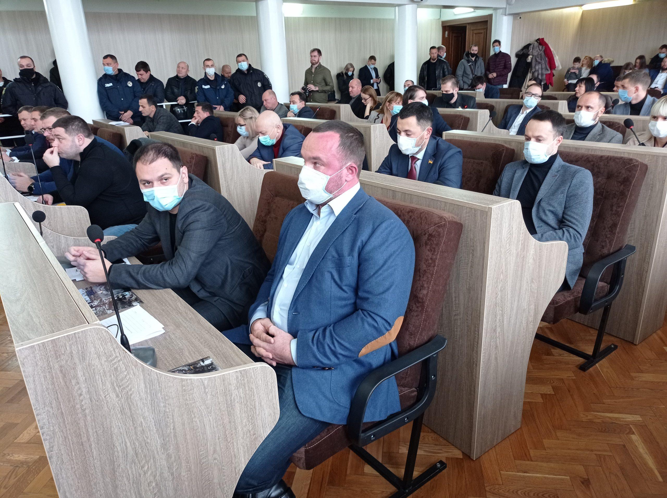 Черкаські депутати призначили керівників постійних комісій