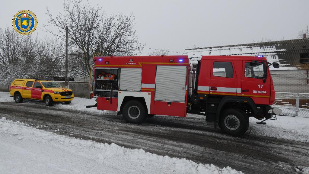 Рятувальники ліквідували пожежу будинка на Шполянщині