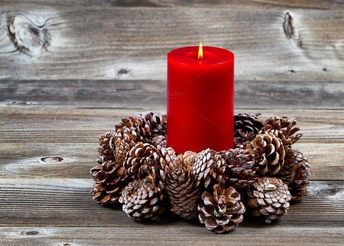 Створюємо новорічну атмосферу вдома: варіанти прикрас із шишками