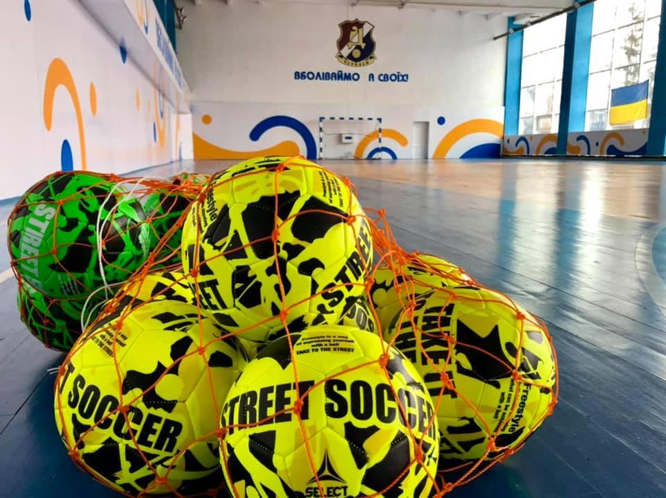 У Черкасах розпочнуться заняття з футболу для дітей із інвалідністю
