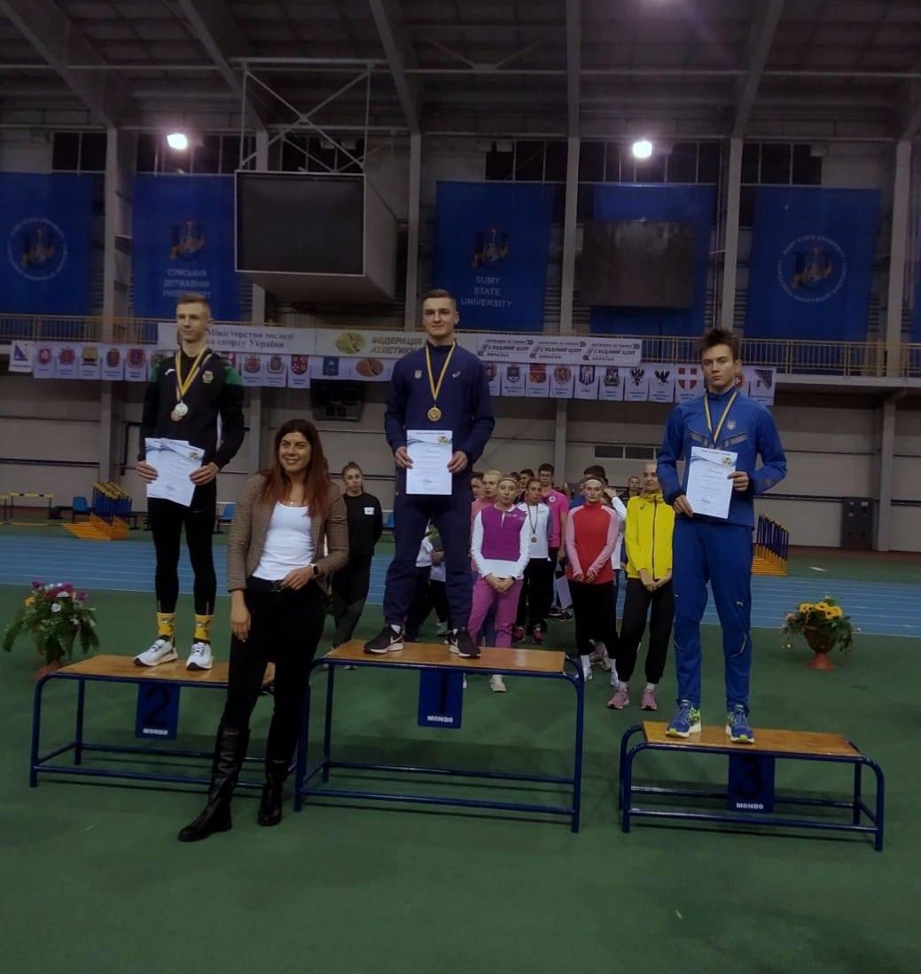 Черкаські легкоатлети здобули нові перемоги на чемпіонаті України