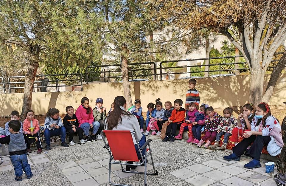 День казки організували в Йорданії за участі черкащанки