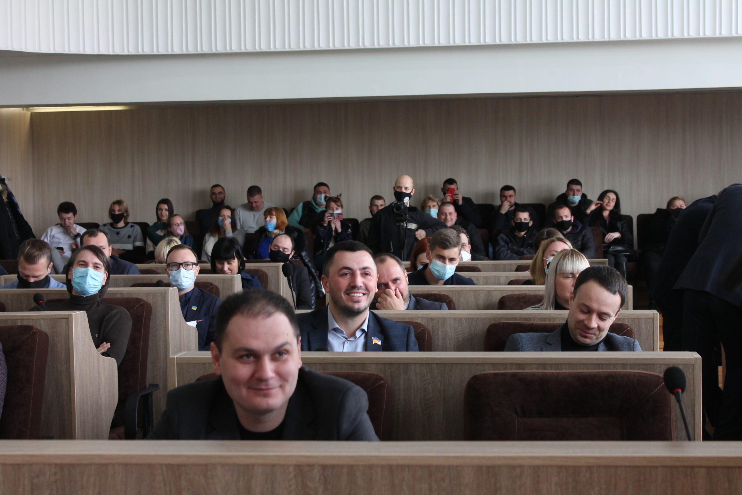 Під час сесії міськради розглянули питання життєдіяльності міста (ФОТО)