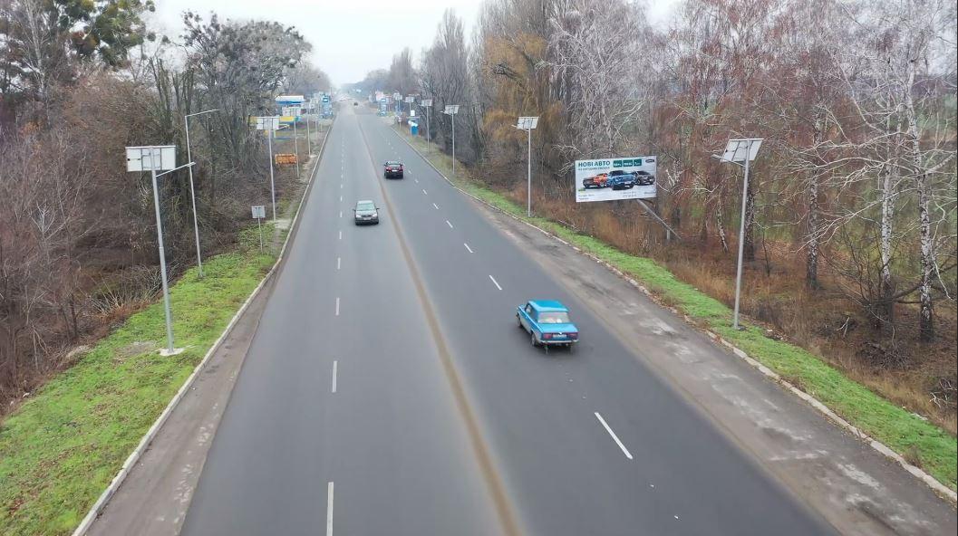 При виїзді з Черкас відремонтували аварійнонебезпечну дорогу