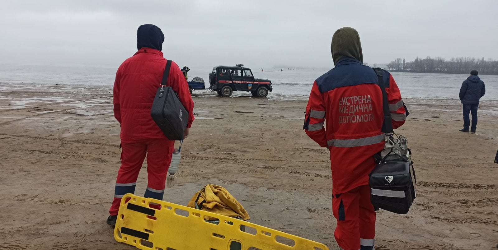 Черкащанин загинув під час риболовлі на льоду