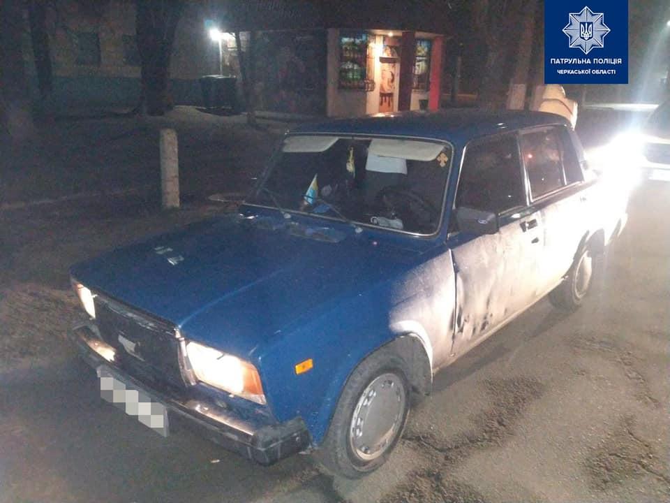 У Черкасах патрульні зупинили водія з ознаками наркотичного сп'яніння (ФОТО)