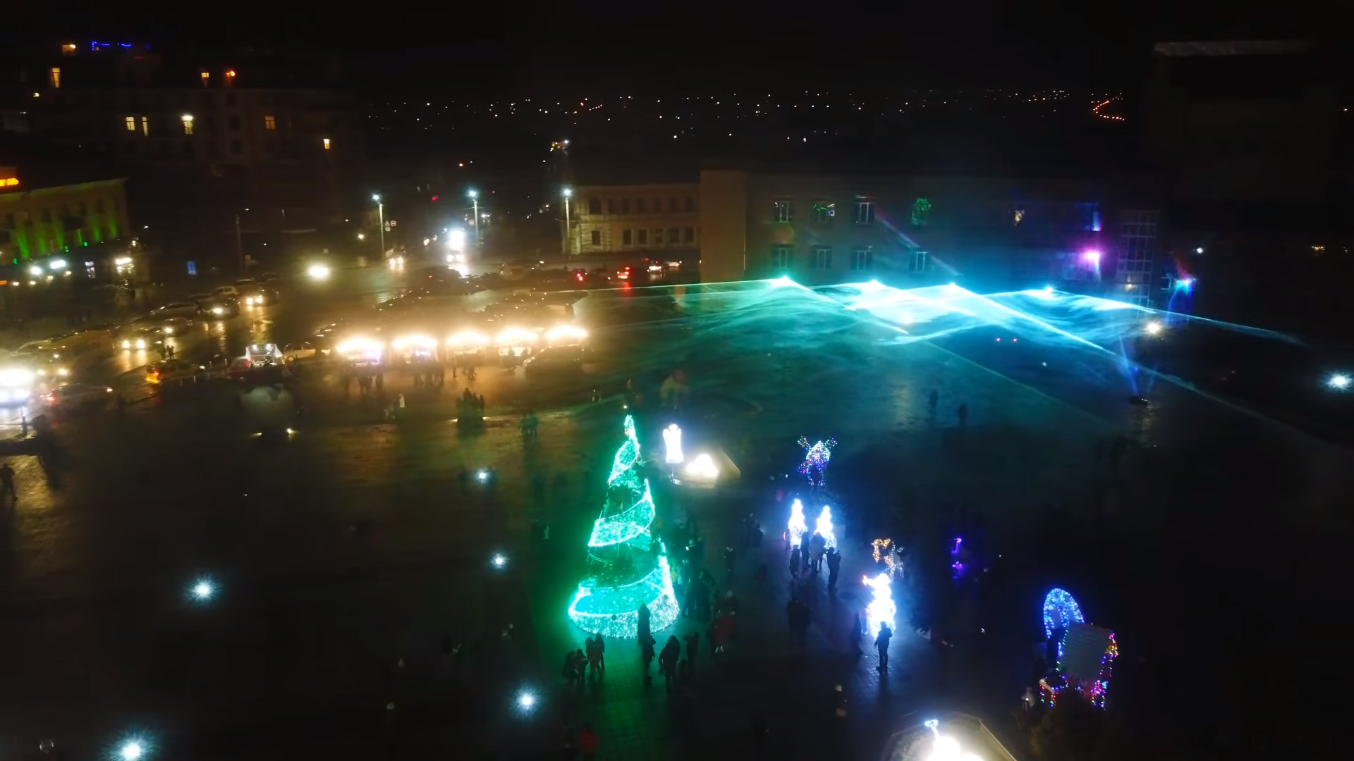 «Північне сяйво» засяє в Умані Різдвяного вечора (ВІДЕО)