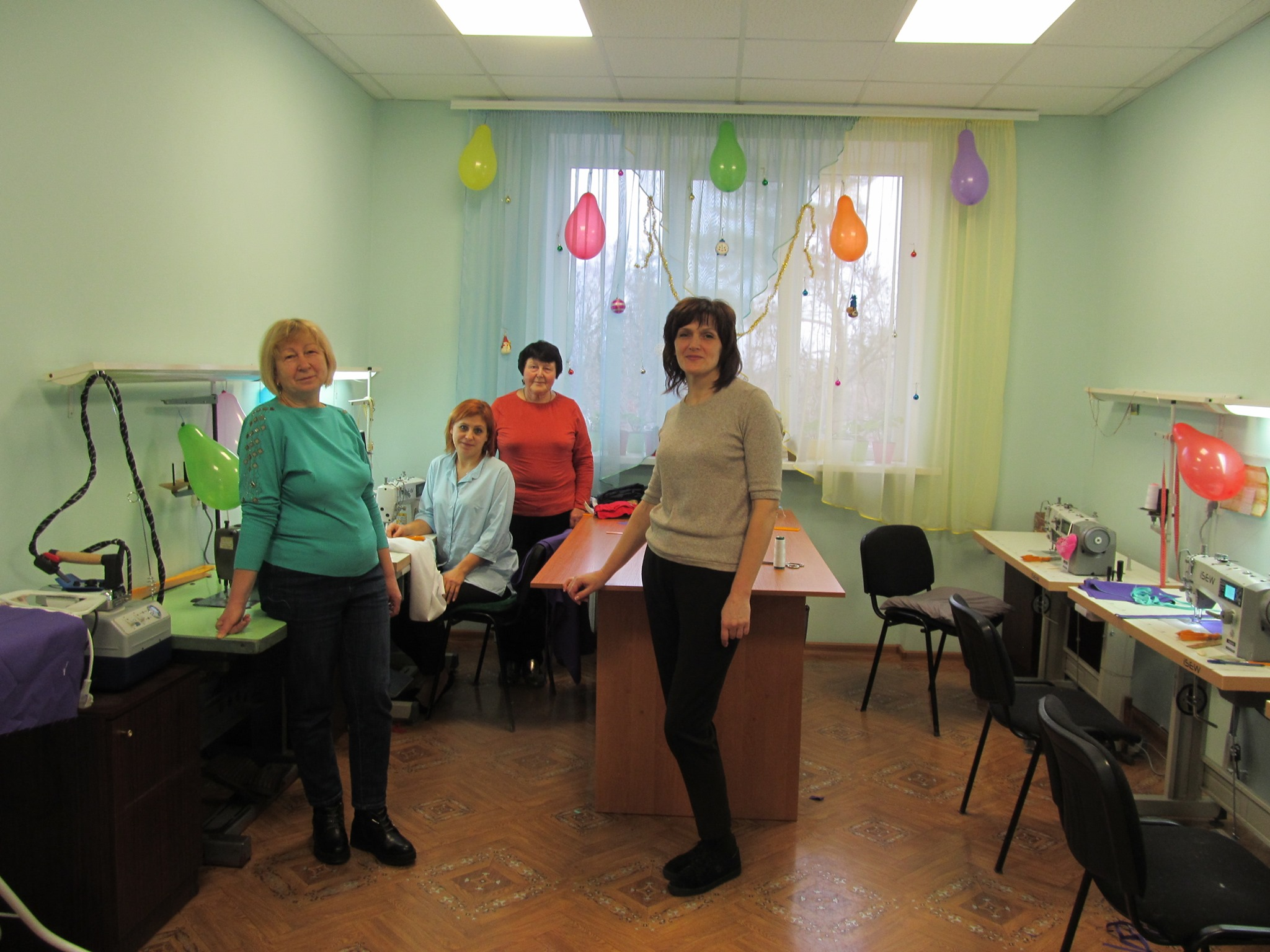 На Звенигородщині оновили швейну майстерню в будинку-інтернаті