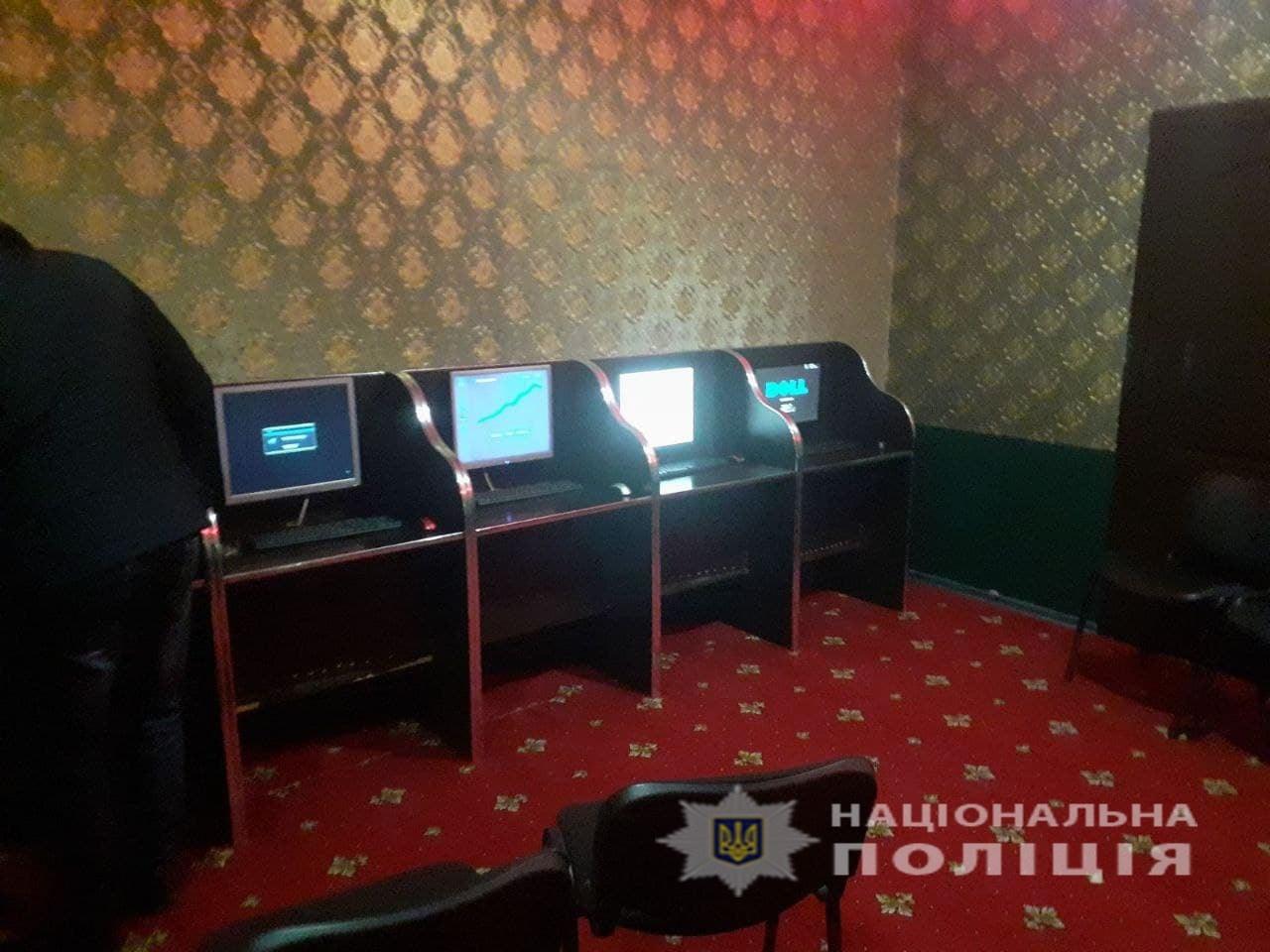 На Черкащині викрили підпільний гральний заклад