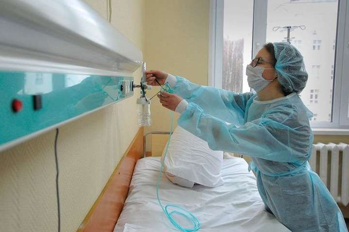 Ковідні ліжка в лікарнях Черкащини майже на 100 % забезпечені киснем