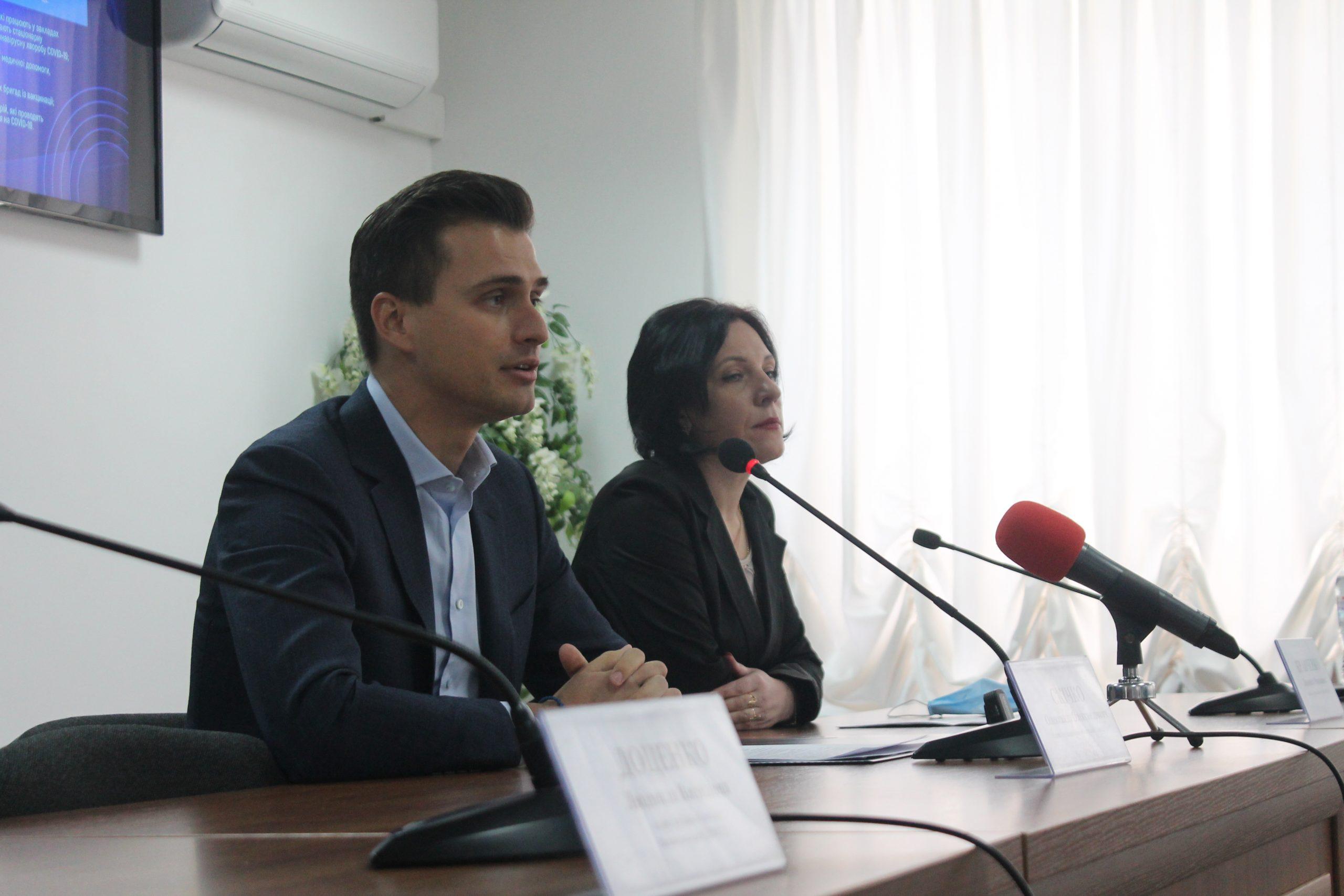 """Олександр Скічко: """"На Черкащині планують вакцинувати 7 тисяч медиків"""""""