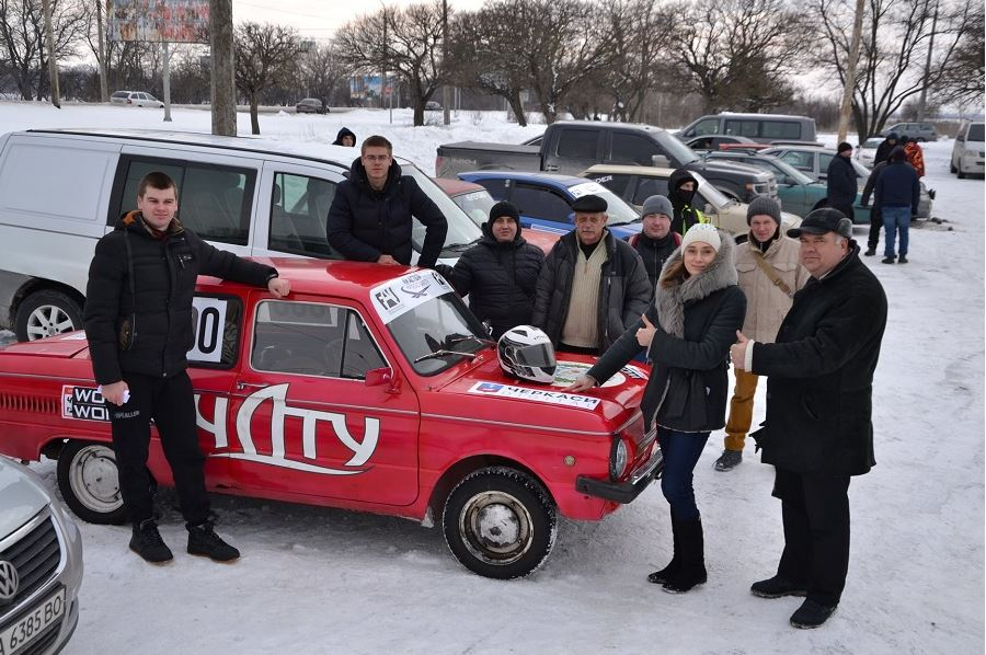 Студенти ЧДТУ взяли участь у перегонах Wonder Rally