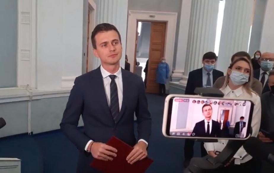 У Черкаській ОДА представили нового очільника області