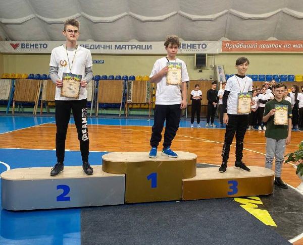 Спортсмен із Черкас виборов медаль чемпіонату України