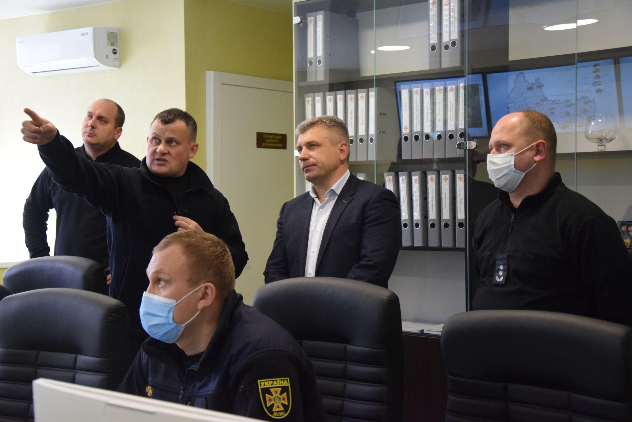У Черкасах обговорили діяльність Центру управління у надзвичайних ситуаціях