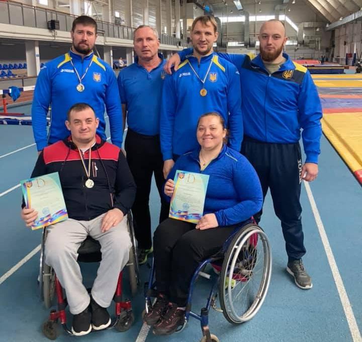 Черкаські атлети стали кандидатами на участь в Паралімпійських іграх