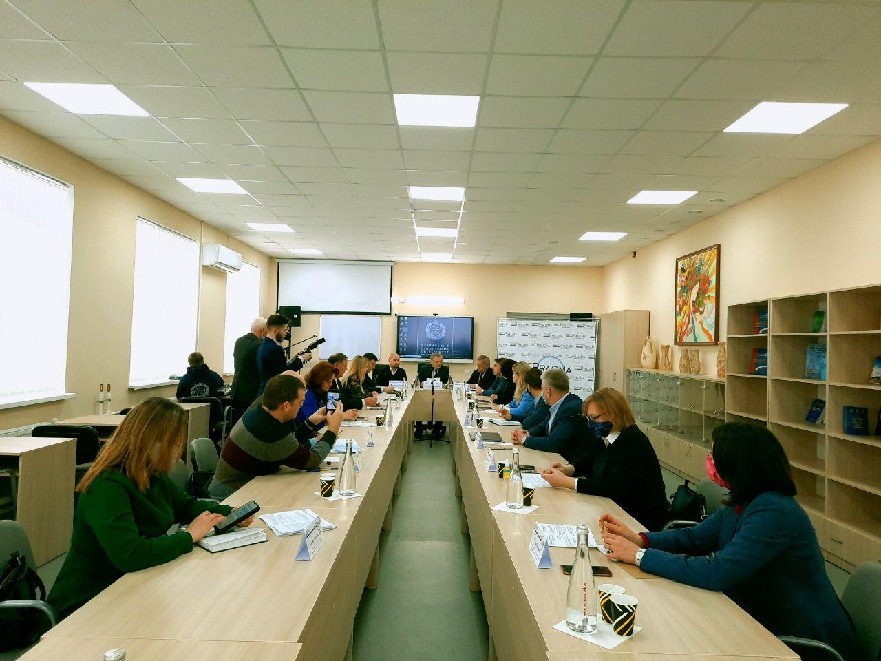 У Черкаському національному обговорили розвиток та перспективи соціологічної науки
