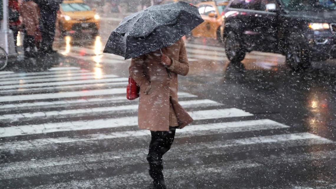 Погода в п'ятницю: на Черкащині сильний вітер і мокрий сніг