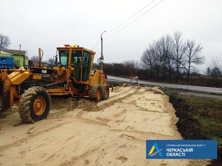 На Уманщині стартував ремонт на автодорозі міжнародного значення