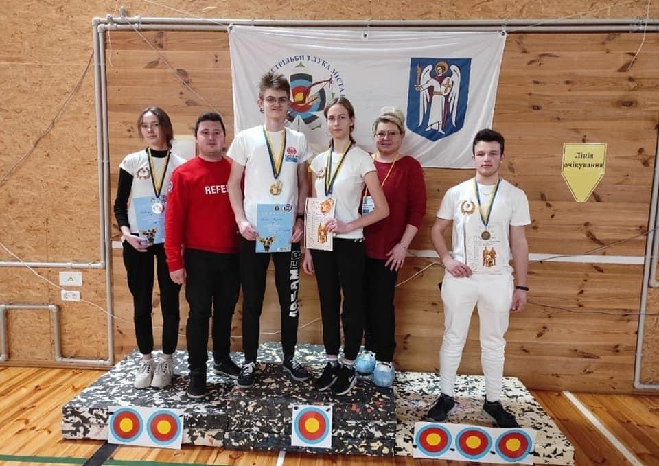 Спортсмени з Черкащини здобули нагороди з турніру зі стрільби з лука