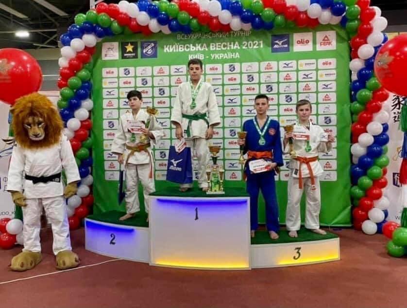 Черкаські дзюдоїсти стали призерами у Всеукраїнському турнірі