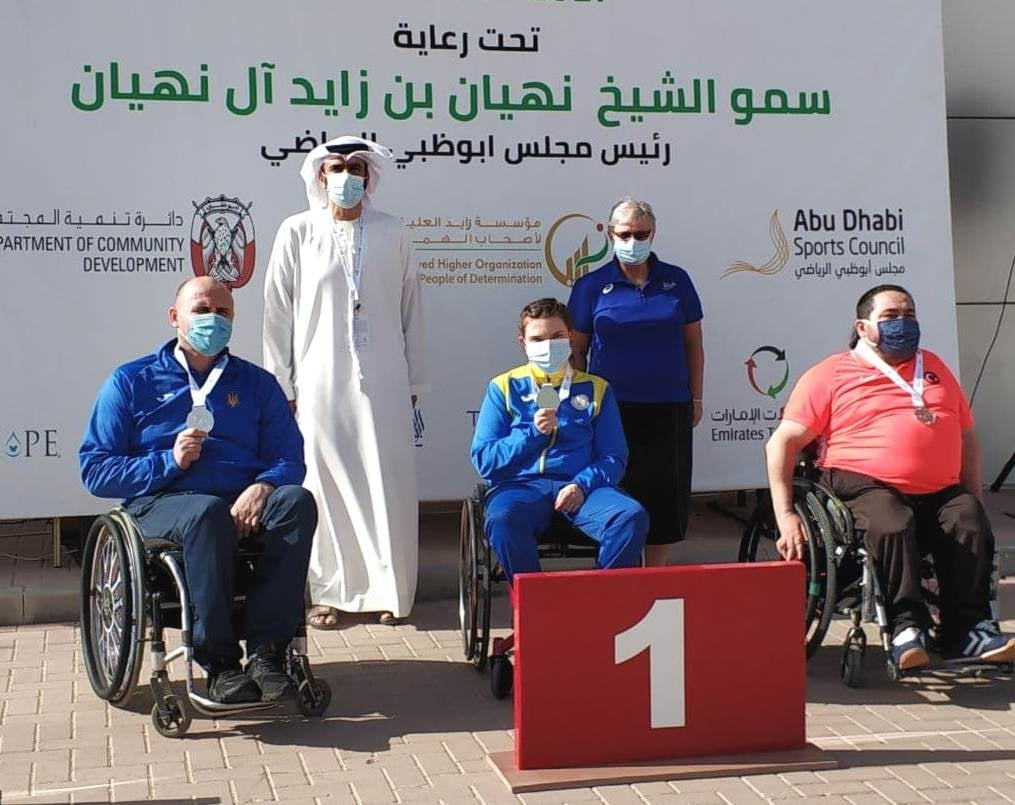 Черкащанка виборола «Золото» Кубка світу в ОАЕ