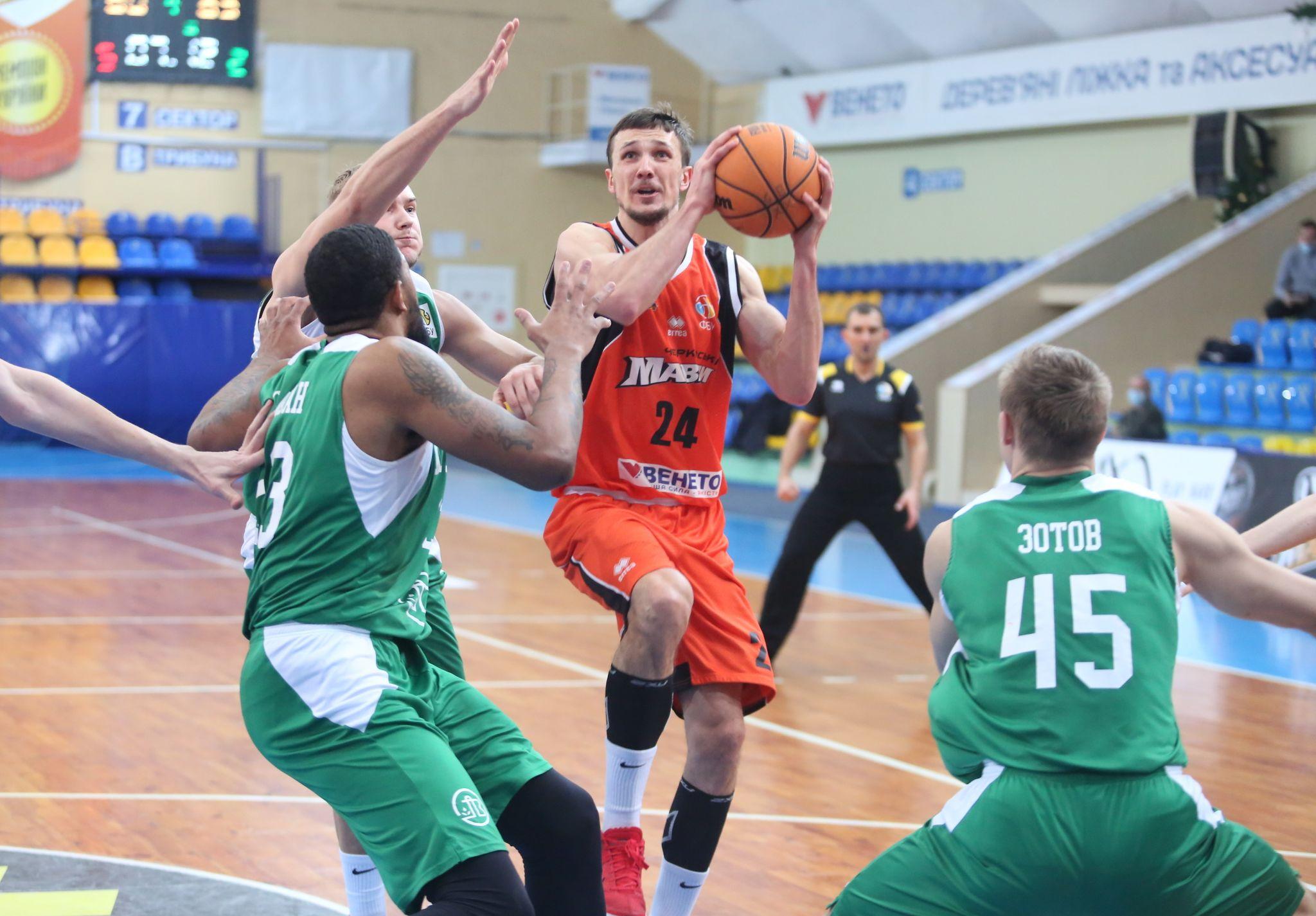 У Черкасах відбудуться матчі за Кубок України з баскетболу