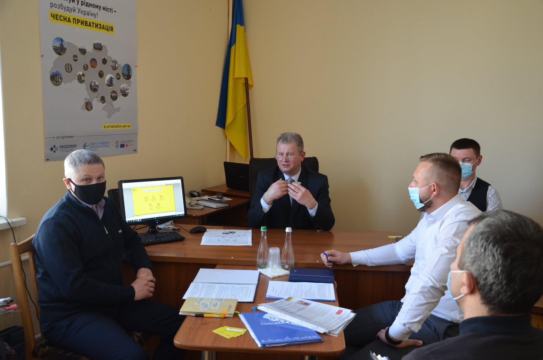 Оренда державного майна: зустріч з бізнес-спільнотою Черкащини