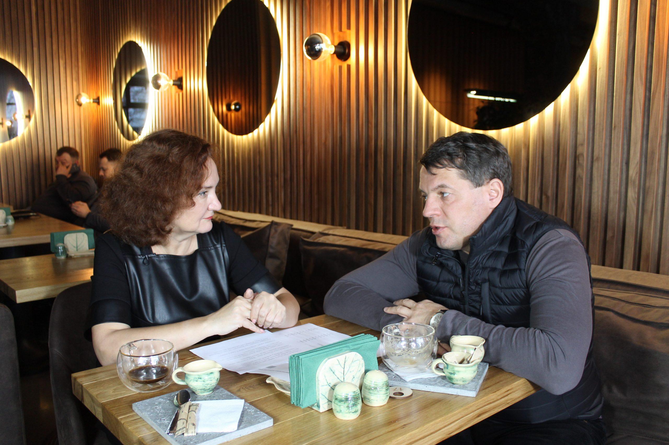 Роман Сущенко в проєкті «Розмова в Residence» (ВІДЕО)