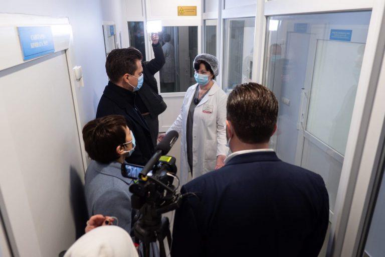 В Уманській лікарні відкрили нове приймальне відділення