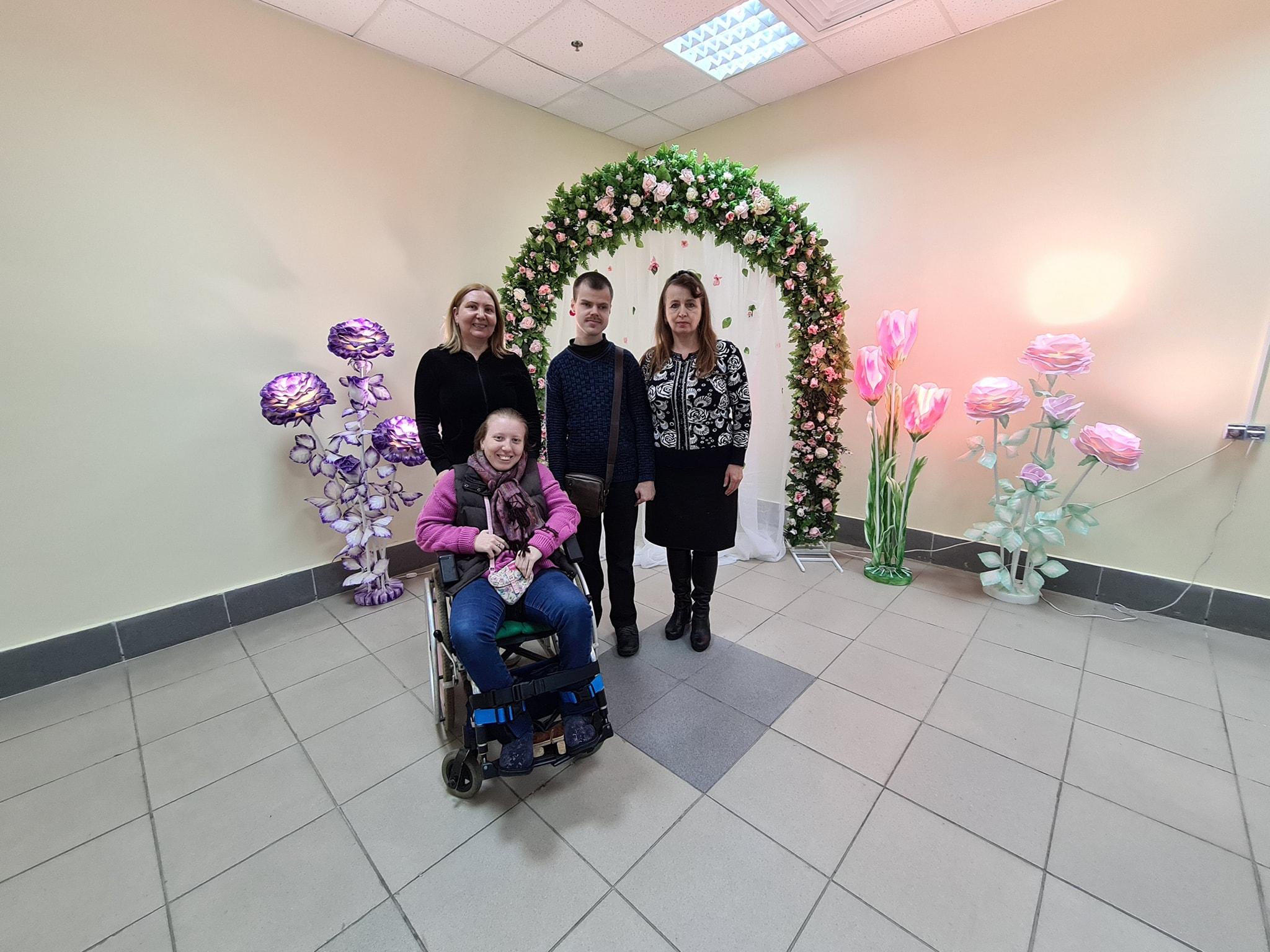 У Черкасах влаштували зустріч для людей з інвалідністю