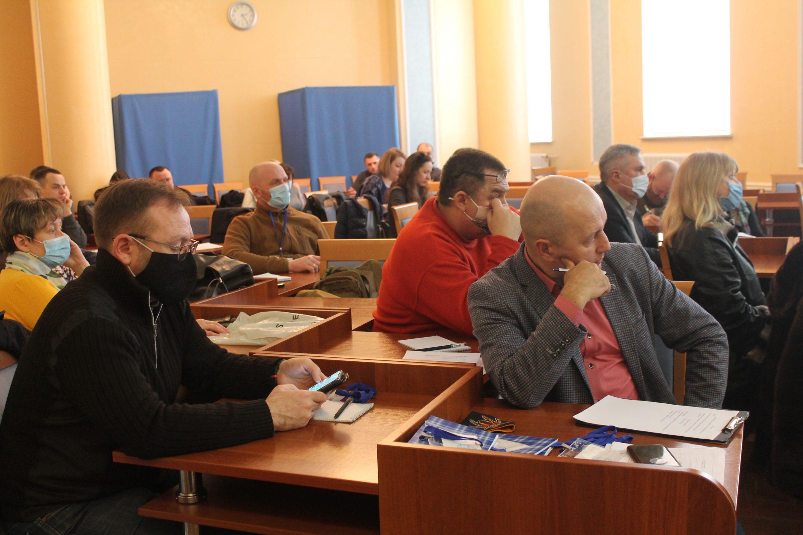У Черкасах відбувся семінар «Грантові програми для бізнесу»