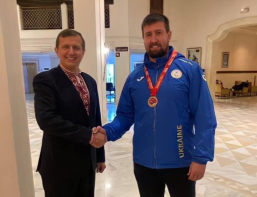 Черкащанин здобув нагороди на міжнародному паралімпійському турнірі
